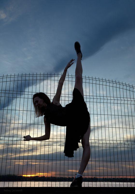 закат, балерина, девушка, лето, андрейларионов ***photo preview