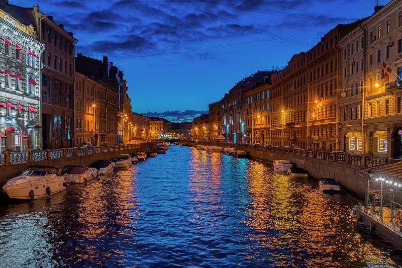 питер ночь прогулка urban город архитектура пейзаж городской пейзаж Почти Венеция.photo preview