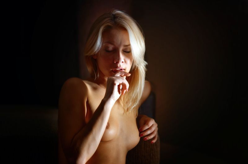 девушка, ню, эротика, портрет **photo preview