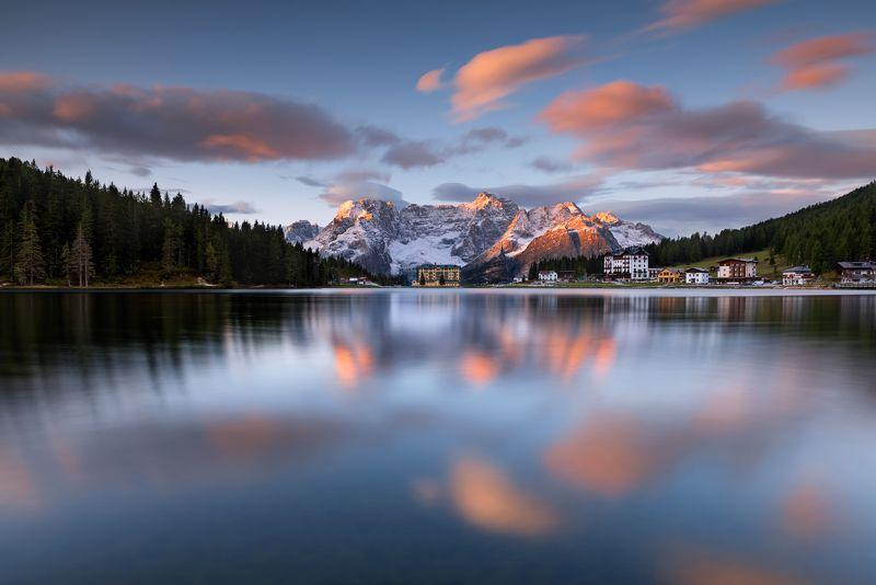 Hugo, Só, HugoSó, Nikon, D810, NikonD810, Dolomites, Misurina, Lake, Italia, Italy, Dolomiti, Lago, Clouds, Water Misurina On Firephoto preview