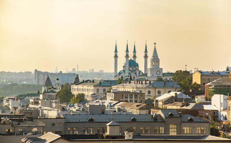 богоявленский собор, республика татарстан, казань Вид с Богоявленского собораphoto preview
