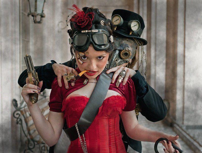 стимпанк, steampunk photo preview