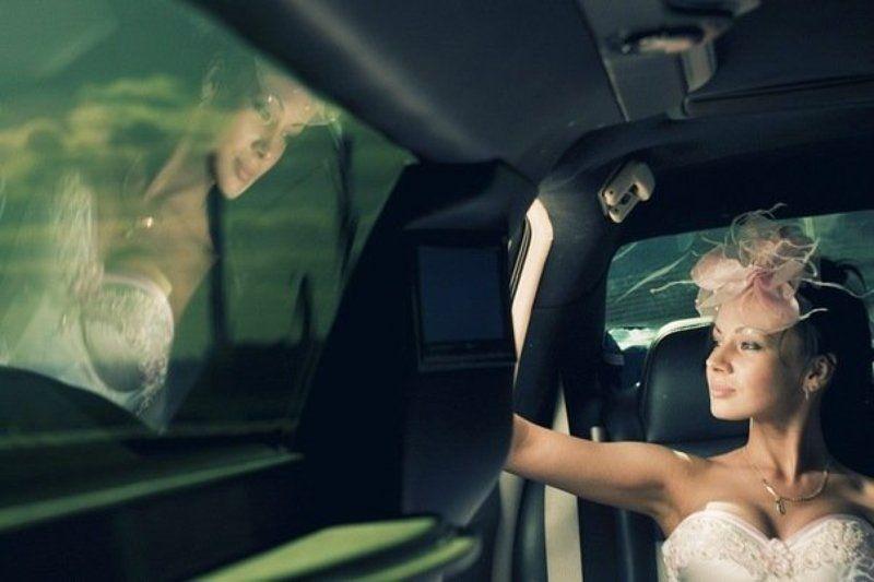 невеста, девушка, портрет, невеста, лимузин, фата, свадьба photo preview