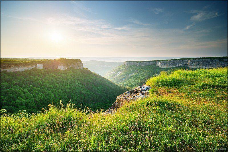 пейзаж, крым, горы, мангуп photo preview