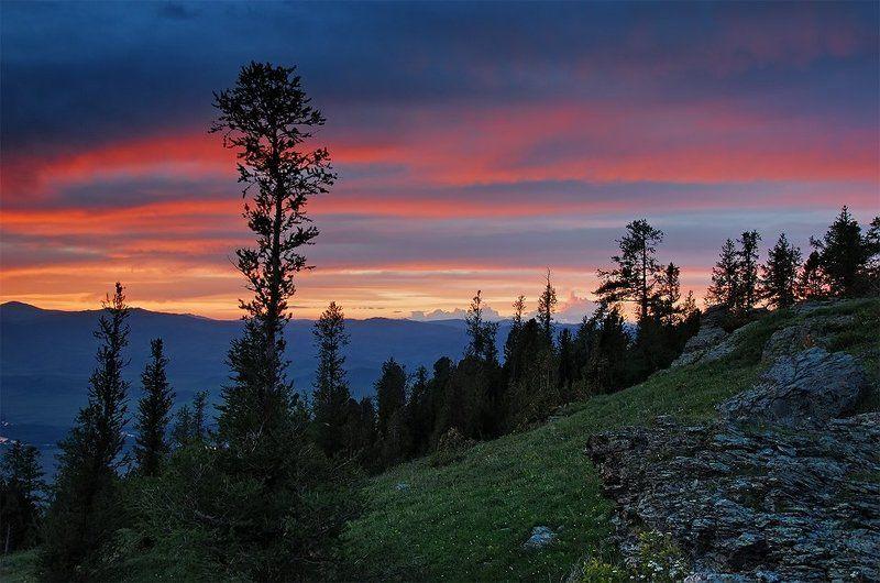 закат, восточный казахстан photo preview