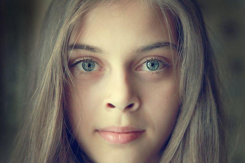 девушка, портрет, глаза photo preview