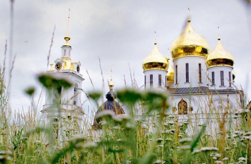 собор, дмитров, храм, церковь, лето photo preview