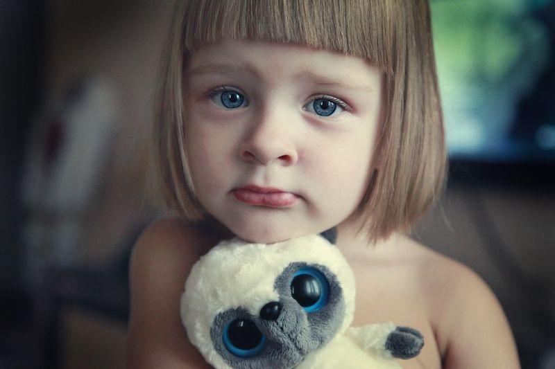 дети, портрет, глаза photo preview