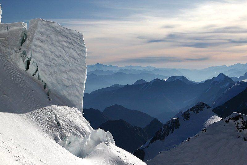 горы, ледник, снег, альпинизм, белуха, алтай photo preview