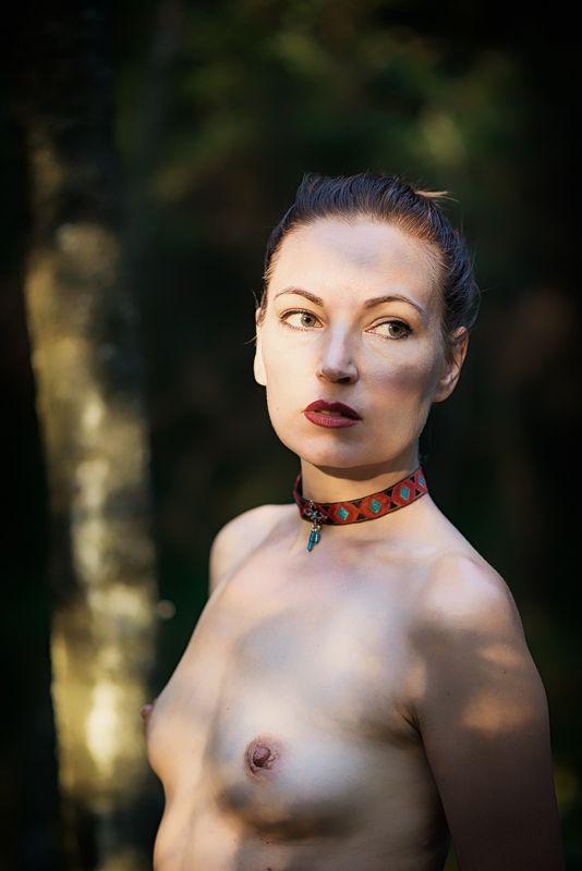 girl, woman, арт, портрет, portrait, женщина, nude, ню, девушка, модель, model forest - лесphoto preview