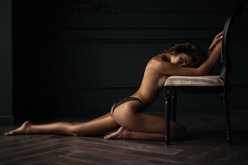 sexy, portrait, black, white, b&w, girl, hair, studio, light, beautiful, eyes Lilyphoto preview
