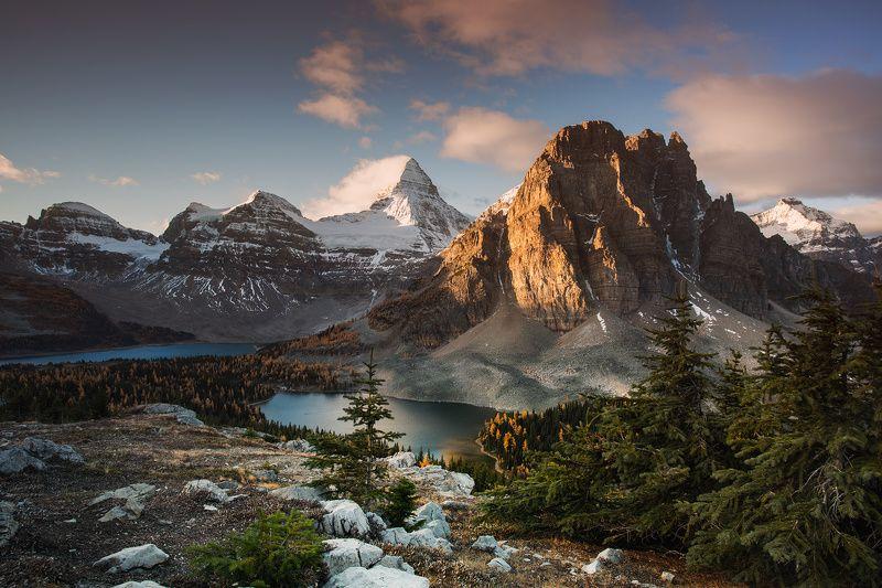 assiniboine, sunburst, , sky, lake, snow КУПАНИЕ В СВЕТЕphoto preview