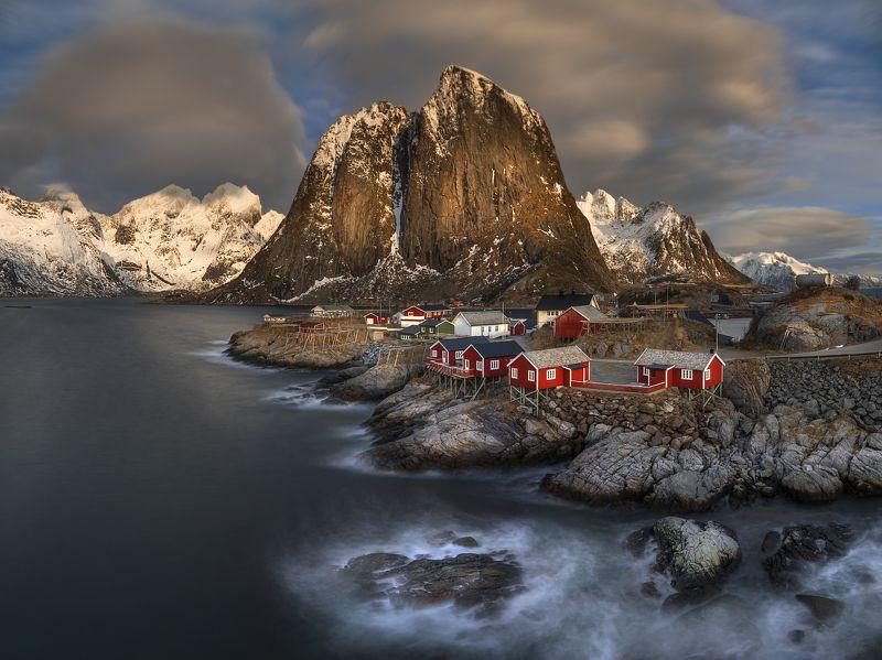 Одна норвежская деревня...photo preview