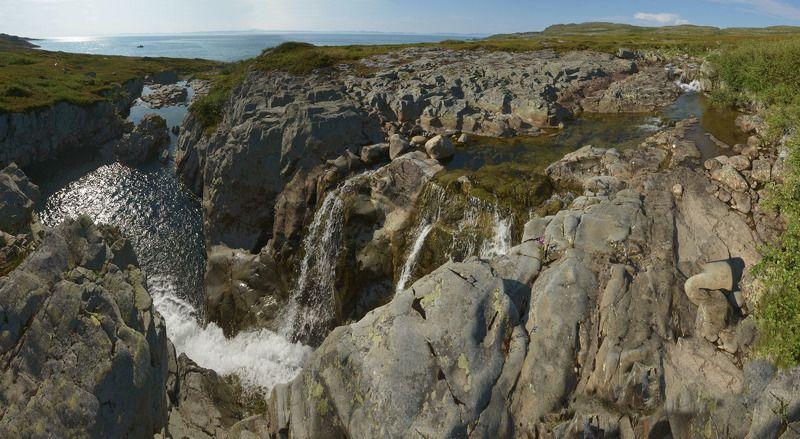 рыбачий, ручей корабельный, мотовский залив Песенка чистой водыphoto preview