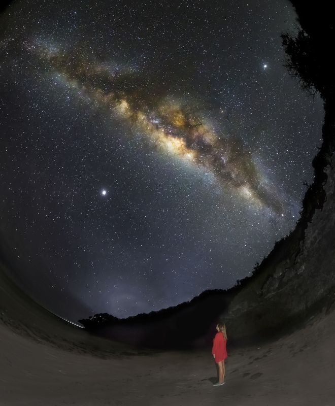The Milky Way in the sky of Africaphoto preview