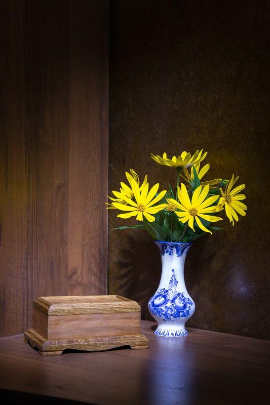 Жёлтые цветыphoto preview