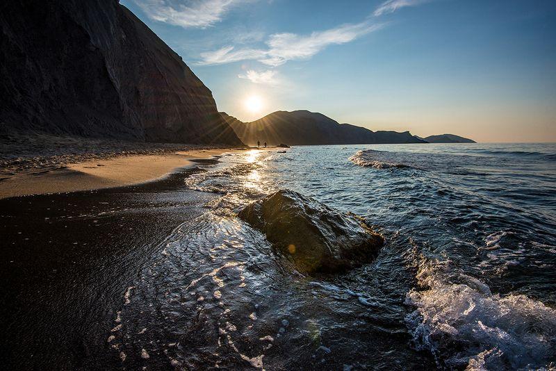 крым Коктебель,Тихая бухта,рассветphoto preview