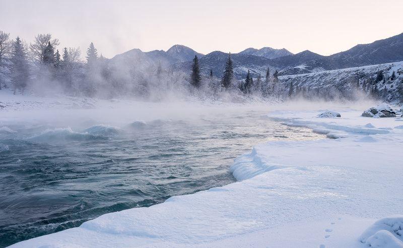 ...Ледяной берег Катуни...photo preview
