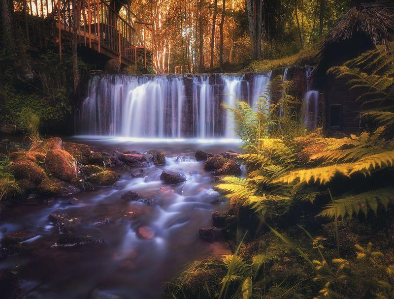латвия, водопад, иерики Тихий уголокphoto preview