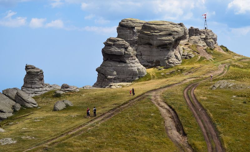 Крым, горы, свет Формы Демерджиphoto preview