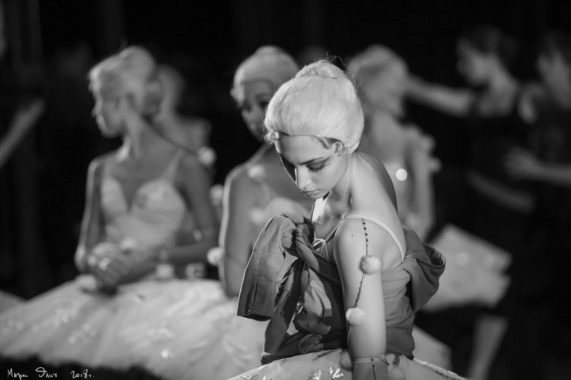 балет сцена театр Закулисье.photo preview