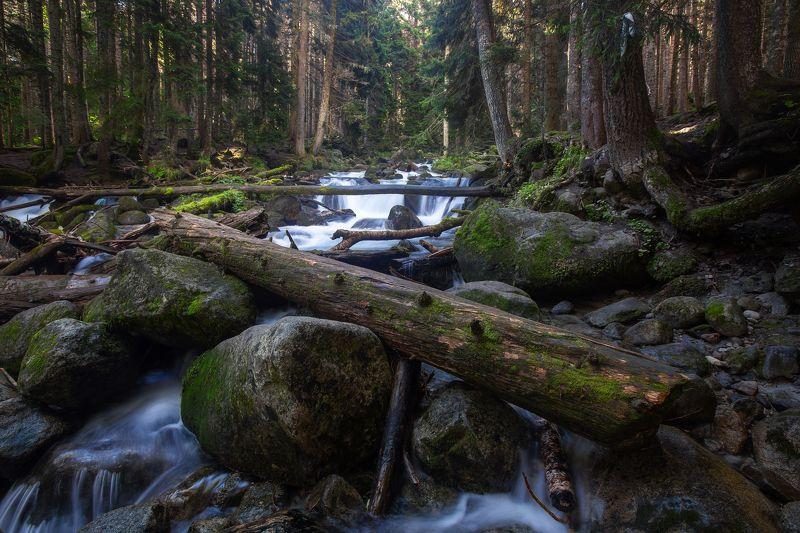 карачаево-черкесия ,кчр , муруджу, речка На речке Муруджу...photo preview