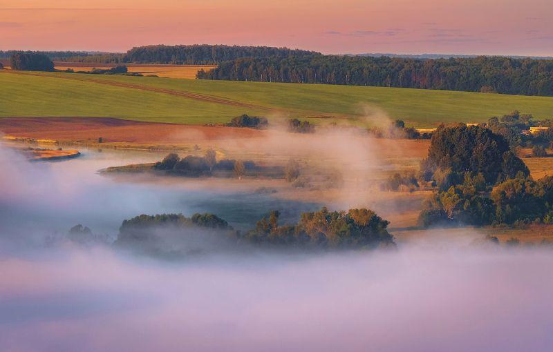 утро, рассвет, пейзаж, август Краски раннего утраphoto preview