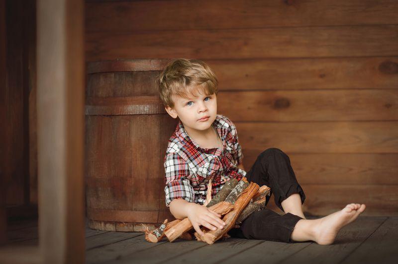 портрет ребенок детская фотография арт art baby семейная Лесорубphoto preview