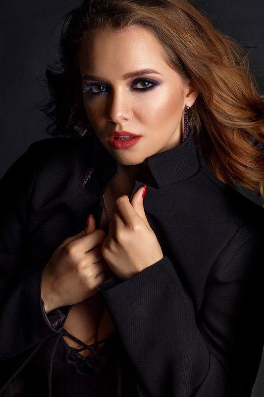 portrait, girl, lips, people, fashion, портрет, девушка, студия, studio ****photo preview