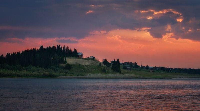 Печора. Июньская ночь.photo preview