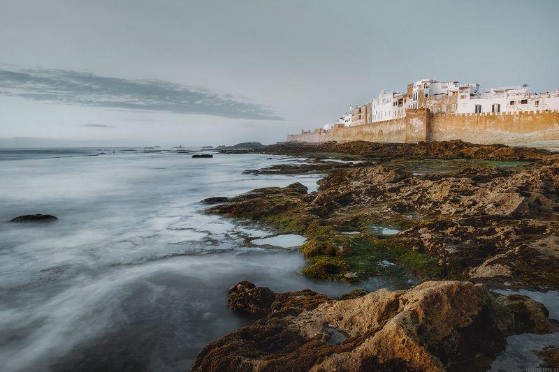 африка, путешествие, марокко, океан, travel, morocco, landscape, nature, africa Сумерки в Эссуэйреphoto preview
