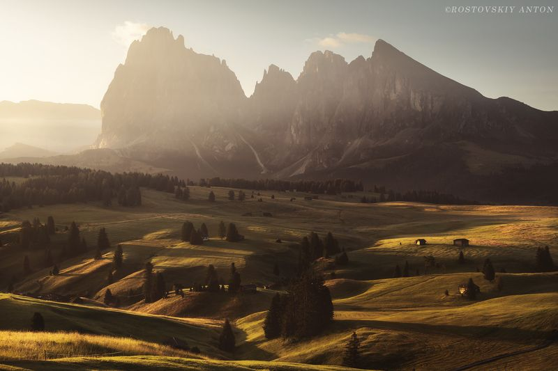 Dolomites, Alps, Доломиты, Альпы, фототур, Италия,  Morning in Alpe di Siusi | Triplaunch.ruphoto preview