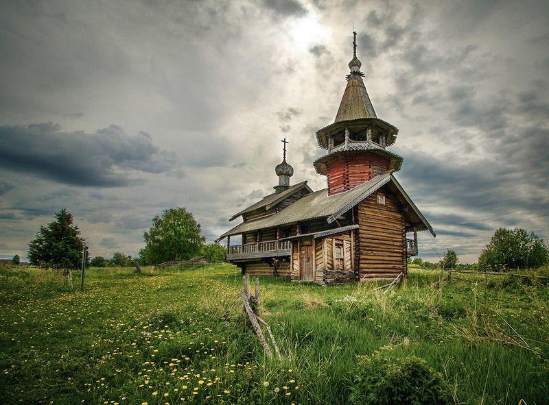 Кижское ожерелье. Часовня Петра и Павла. Деревня Насоновщинаphoto preview