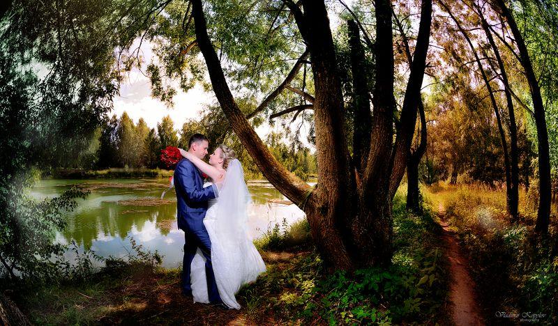 Свадьба , прогулка , СЧАСТЛИВЫЙ ДЕНЬphoto preview