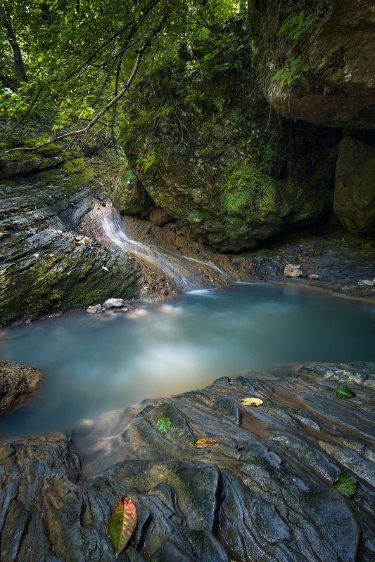 адыгея, водопад, природа Мезмайский Водопадphoto preview