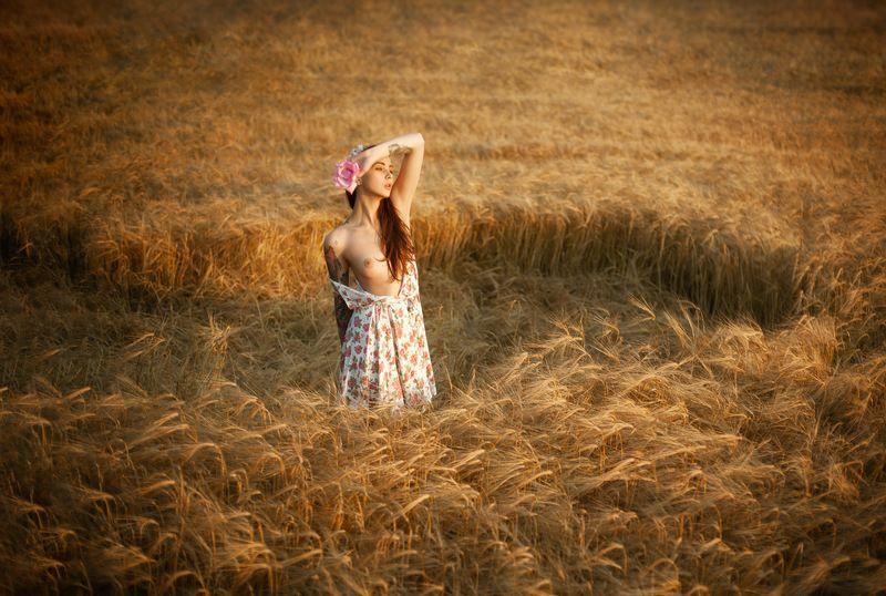 девушка, ню, эротика, портрет, природа, ryzhenkov.com Августphoto preview