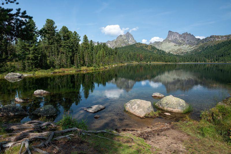 пейзаж,Сибирь,Ергаки,озеро,Светлое,отражение Сибирский пейзаж.photo preview