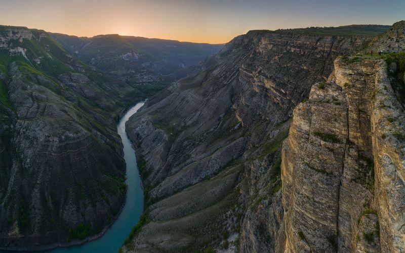 кавказ дагестан сулакский каньон закат фантом Дагестан. Сулакский каньон.photo preview