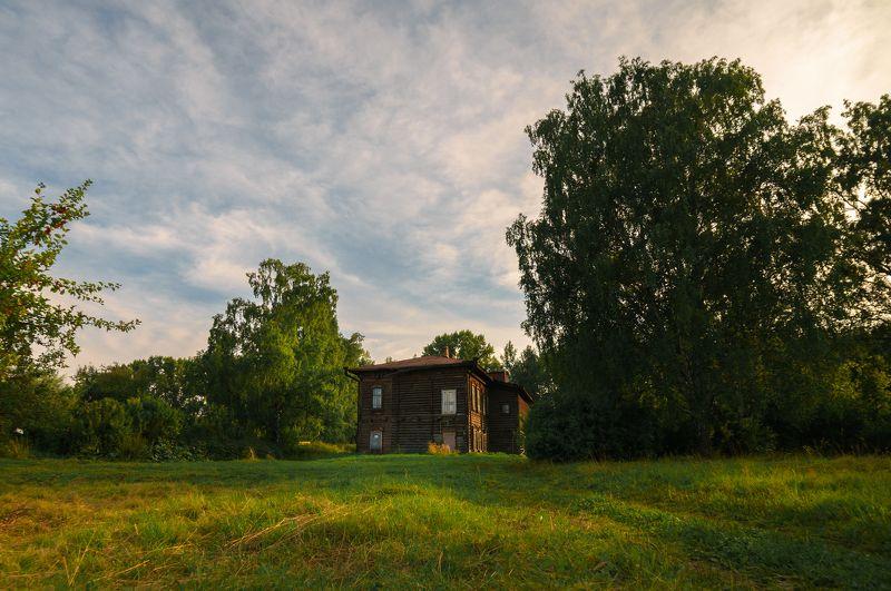 город, лес Городской пейзаж-2photo preview