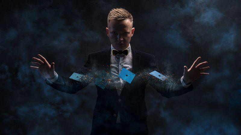 magic, illusion, focus photo preview