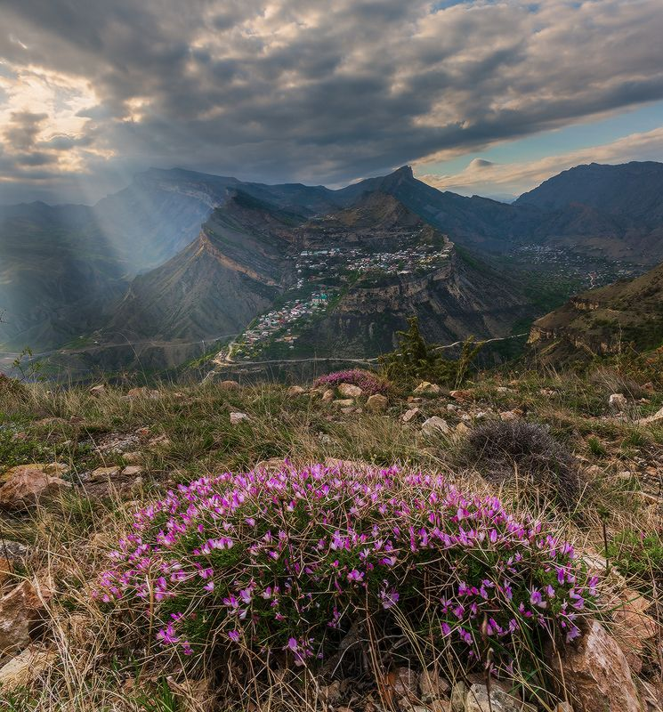 кавказ дагестан гуниб весна С видом на Гунибphoto preview