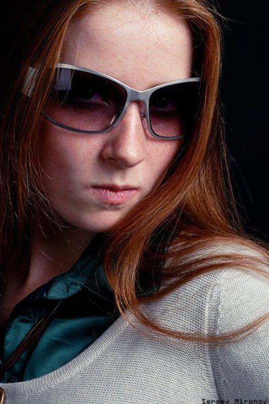 девушка, портрет, студия ***photo preview
