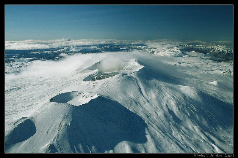 камчатка вулкан горелый Лунная Камчаткаphoto preview