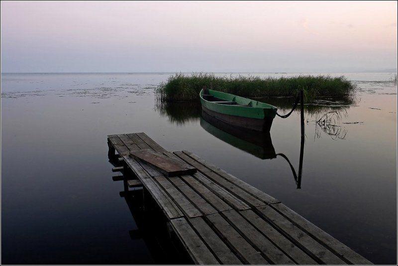плещеево, озеро, переславль, залесский, золотое, кольцо На рассветеphoto preview