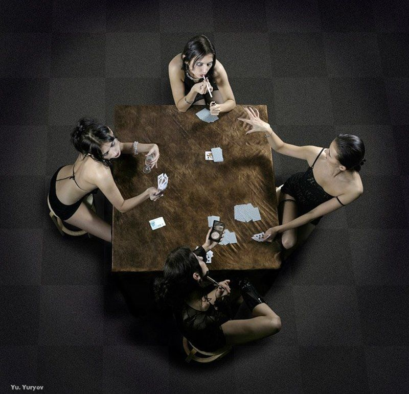 дамы карты игра дамские игрыphoto preview