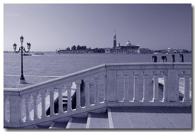 венеция, италия Этюд в голубомphoto preview