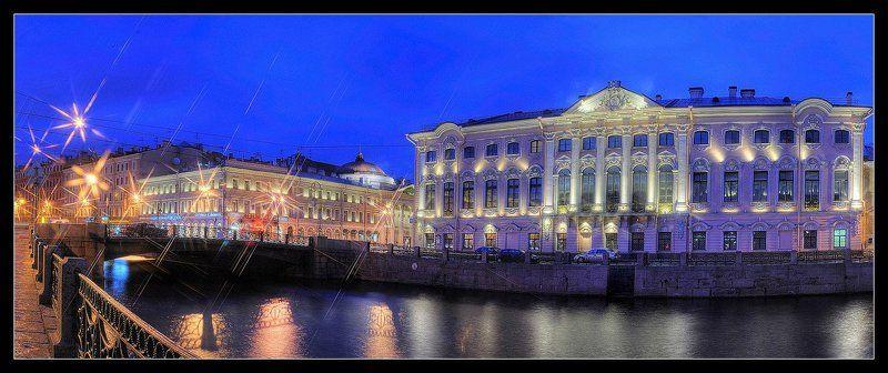 Нарядный Петербург. Строгановский дворец.photo preview