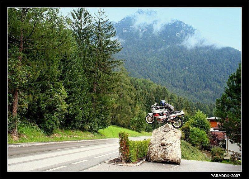 австрия, тироль, maurach on achensee, paradox Приглашение к экстримуphoto preview