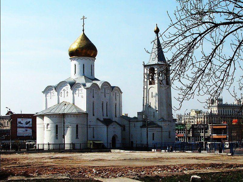 храм николы старообрядческий Никольский старообрядческий храм на площади у Белорусского вокзала. Москва.(1)photo preview