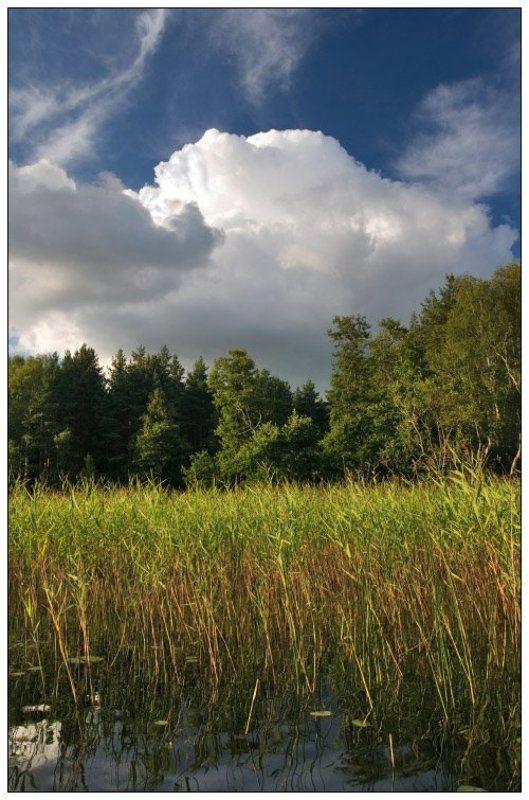 облака, селигер Селигерские зарисовки #2photo preview